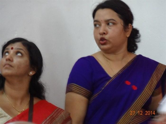 Pair behind the show!-Madam Sandhya and Parinita Goswami