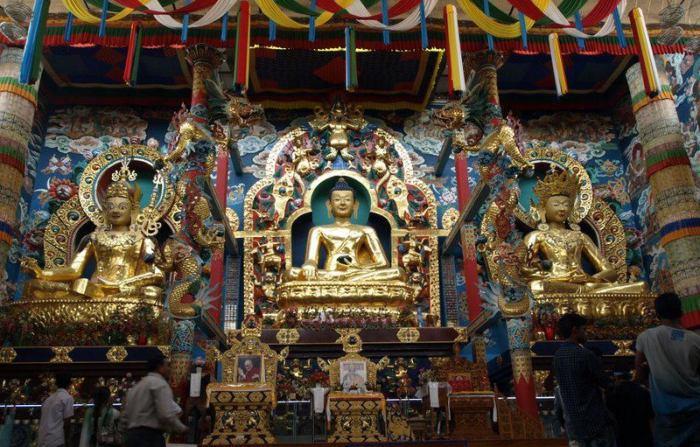 Tibetian monastery, Kushalnagar, Coorg. Photo by Sharadha NV