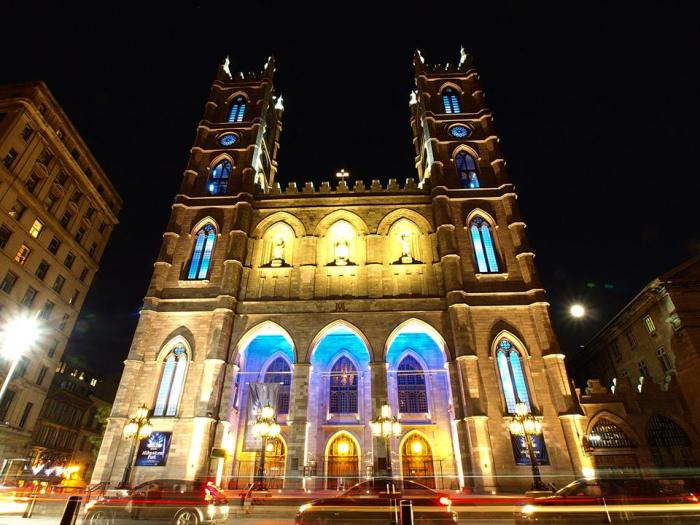 Notre-Dame Basilica Church, Montreal  by Sharadha NV