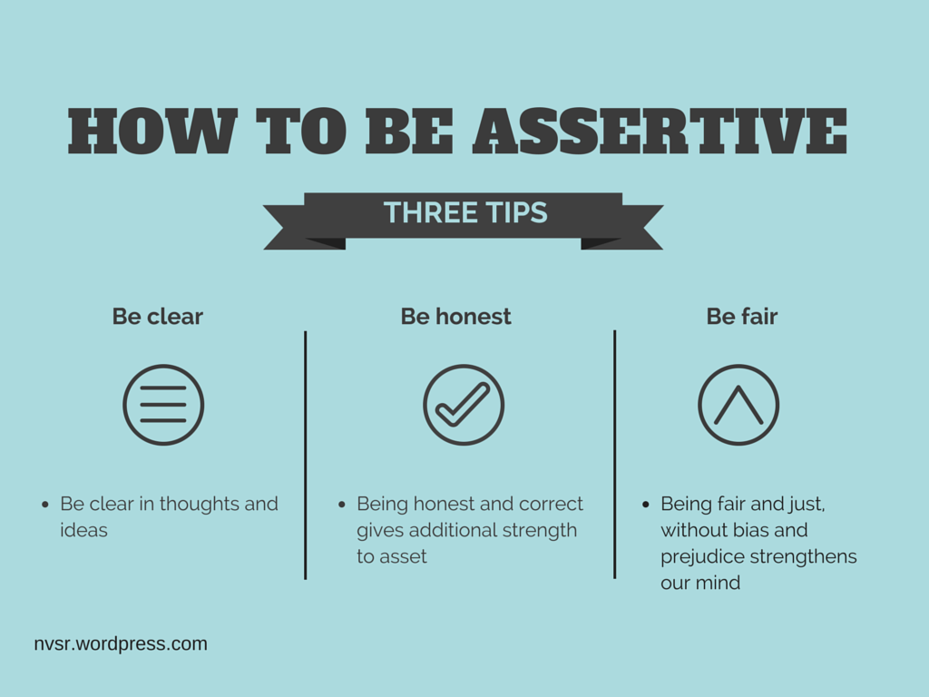 assertive behavior Assertive counterpart: even if others are hurt by my assertive behavior, i can let them know i care for them while also being direct about what i want or need although at times, they will be taken aback by my assertive behavior, they are not so vulnerable and fragile that they will be shattered by it.