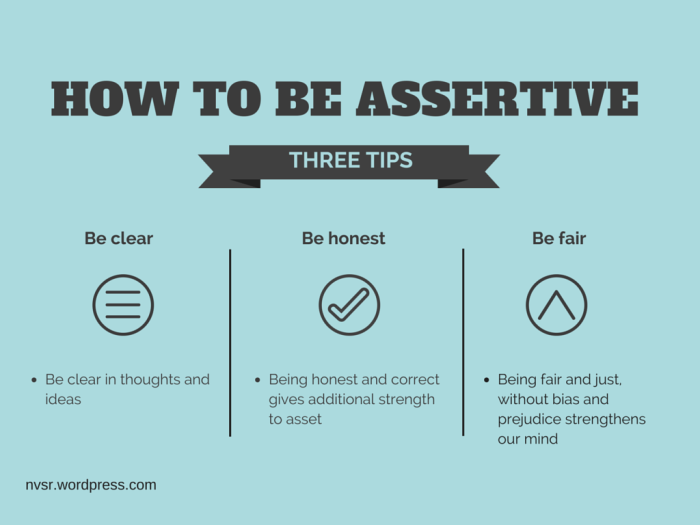 HOW TO BE ASSERTIVE (1)