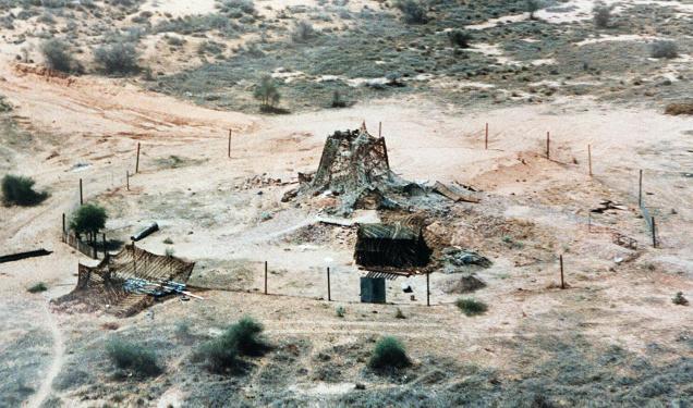 Pokhran-II test site