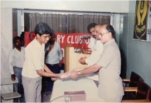IW Celebrations in CBE Rotary Club Prize distribution- Coimbatore
