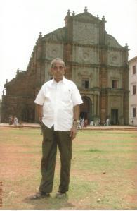 N V Subbaraman in Goa