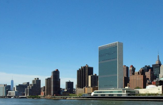 United Nations HQ at New York. Photo by Ramnath