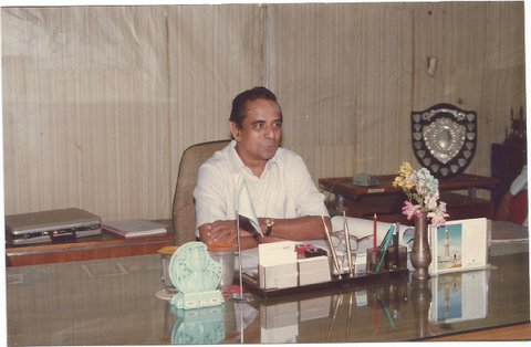 Blog author during his Cuddapah days