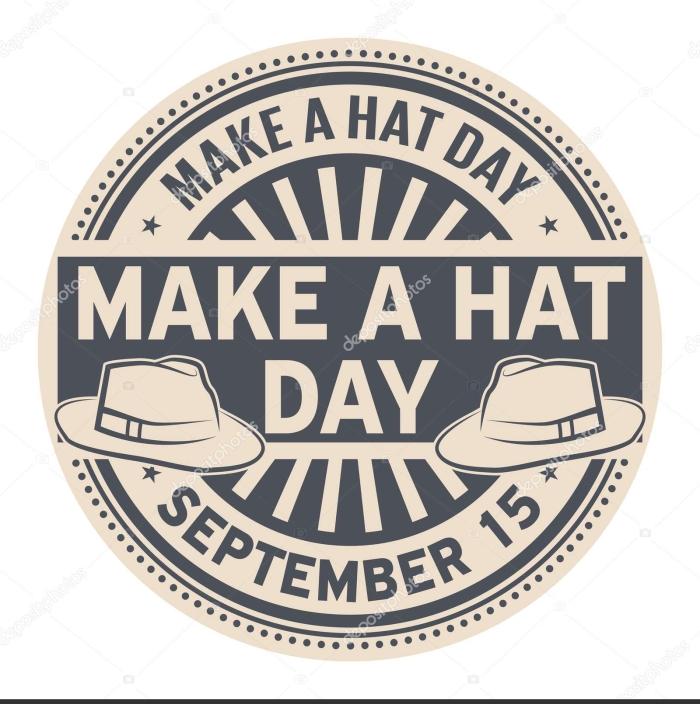 Make a Hat Day