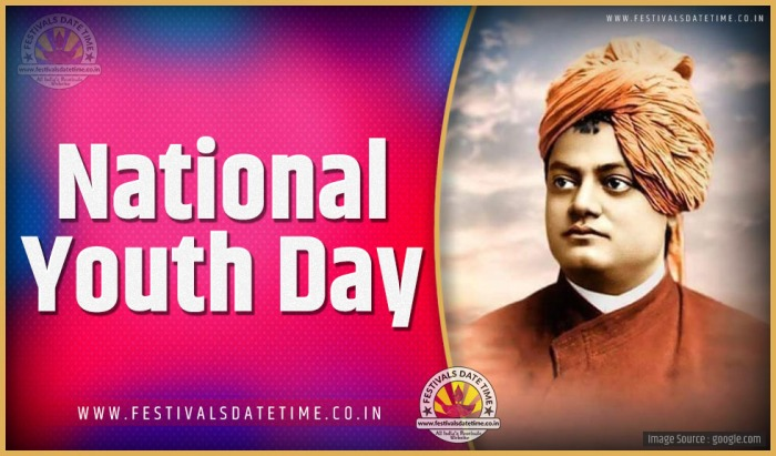 Image result for Image for National Youth Day 2020