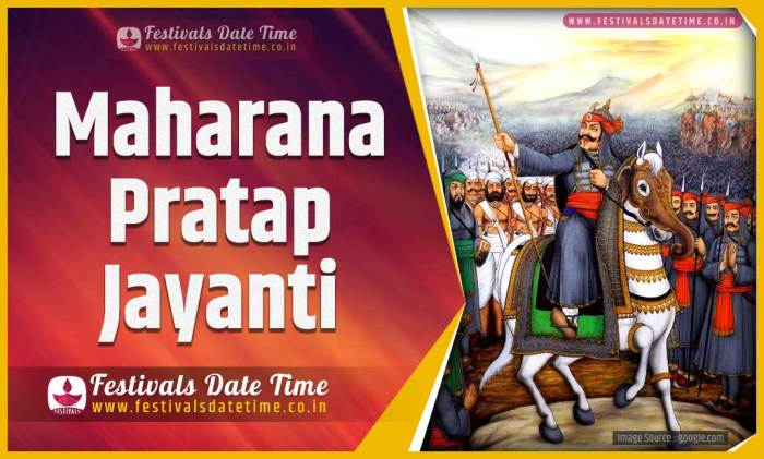 2020 Maharana Pratap Jayanti Date and Time, 2020 Maharana Pratap ...