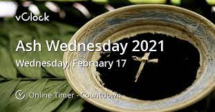 Image result for Images for AshWednesday 2021